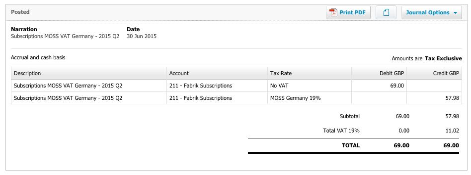 [EU VAT adjustments in Xero]