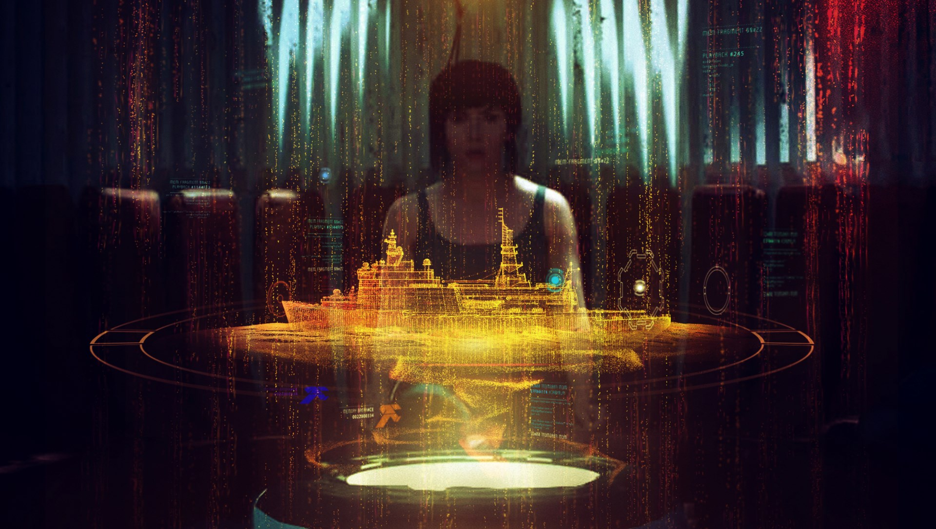 Ghost in the Shell concept art – Territory Studio