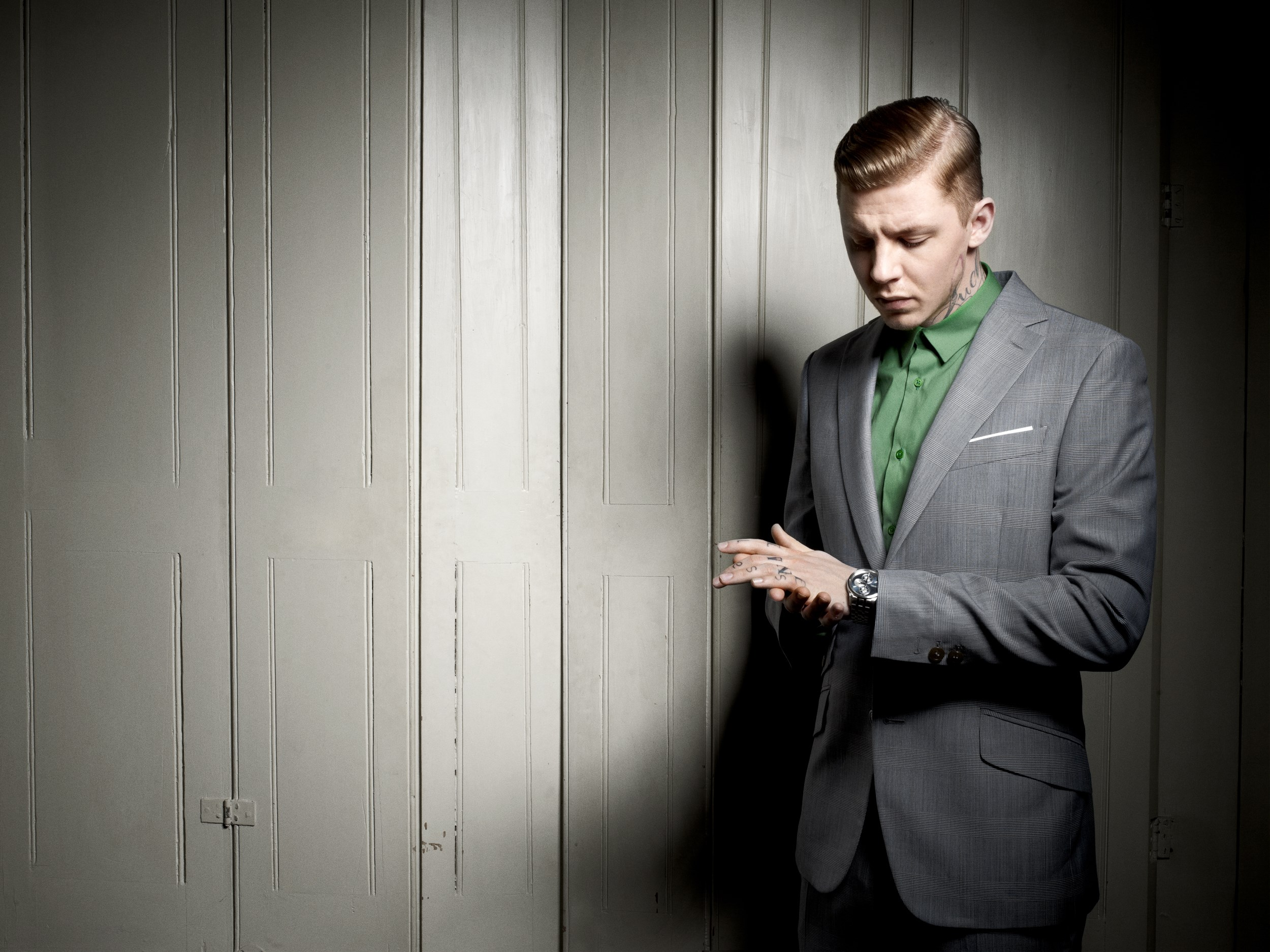 Anthony Hill - Professor Green