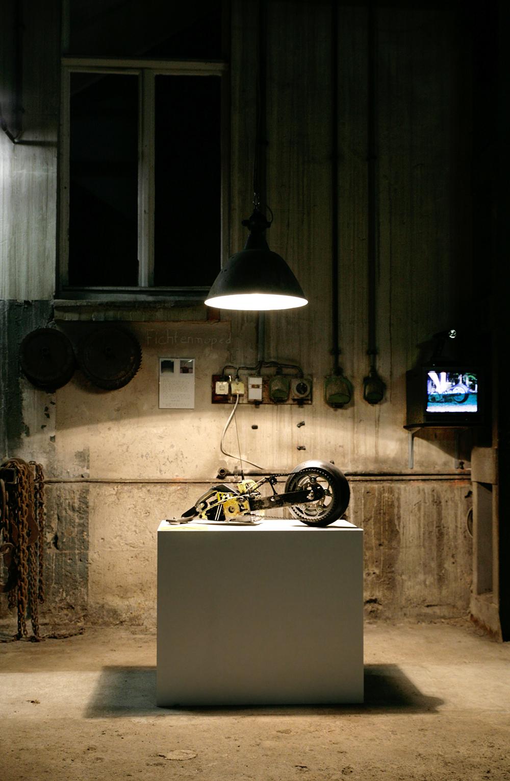 Diplomausstellung, Studio Wägetechnik Weimar