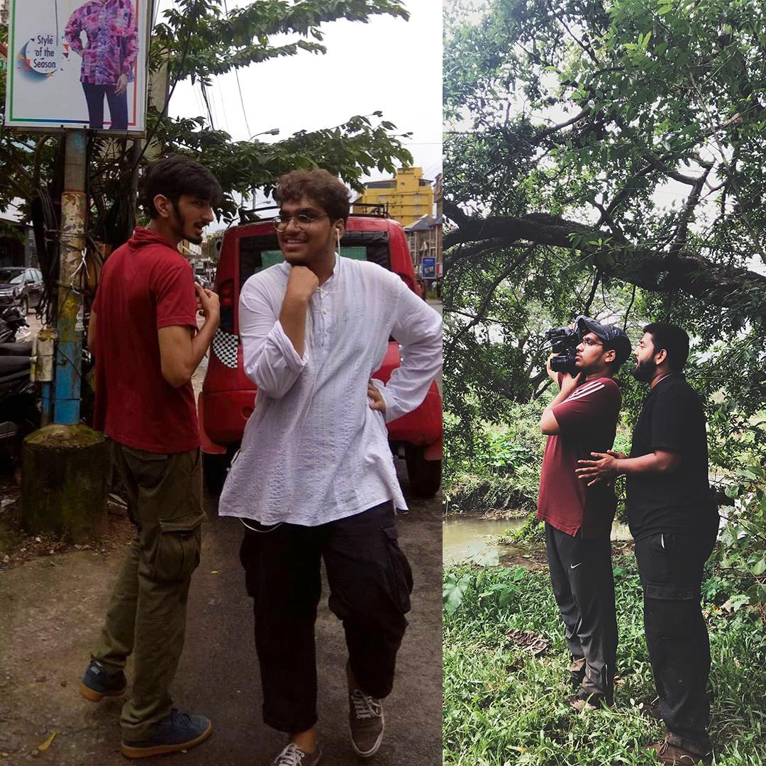 Pranav bhasin shooting the new When Chai Met Toast Music Video