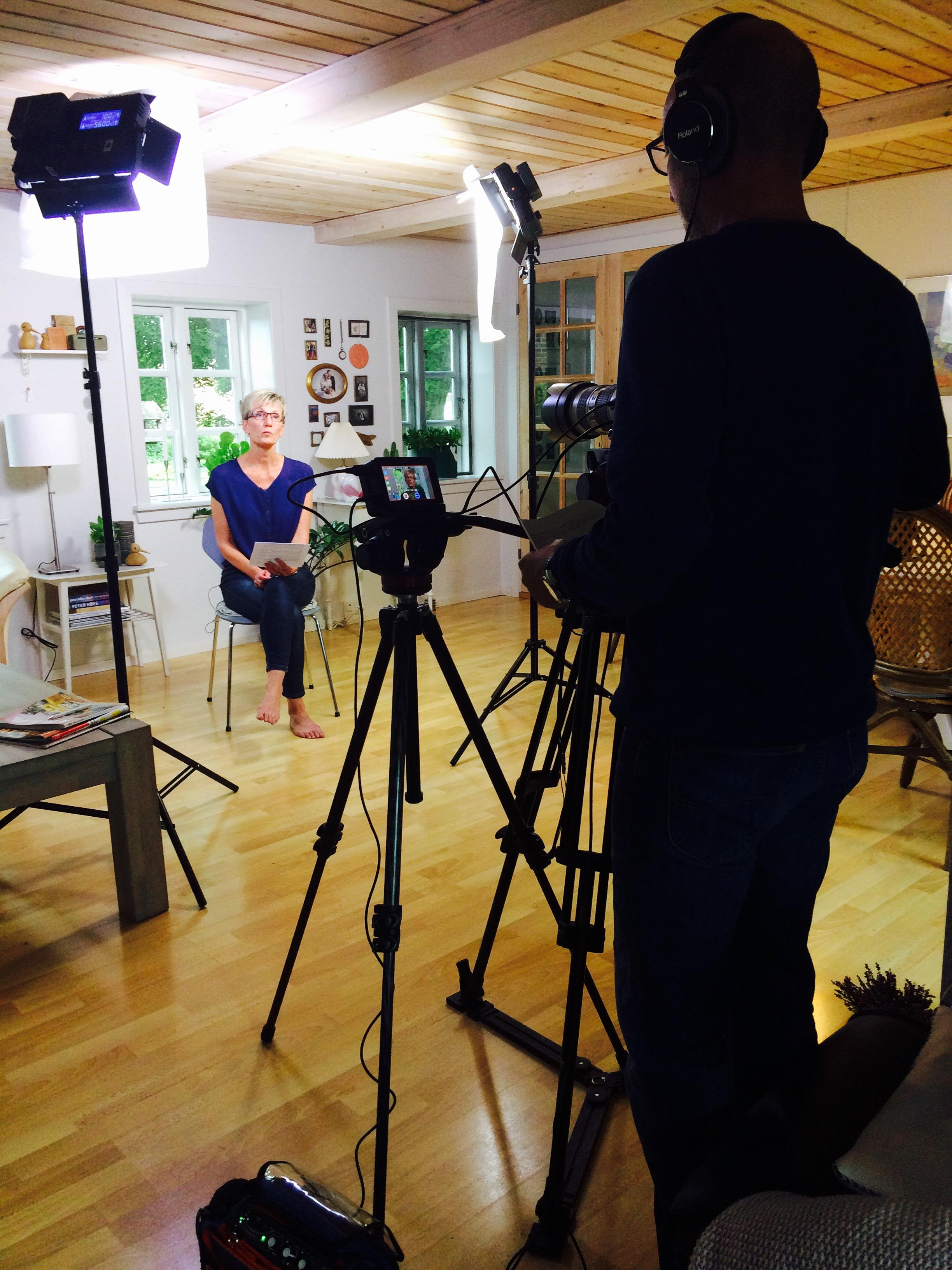Entrevista, produccion audiovisual